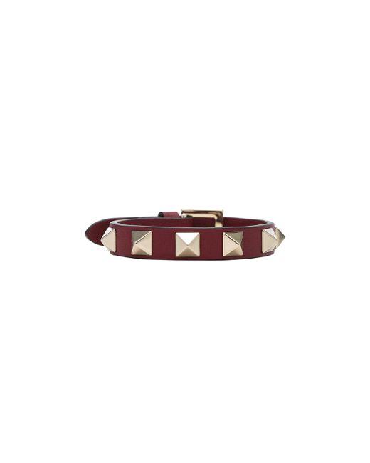Valentino | Purple Rockstud Bracelet | Lyst