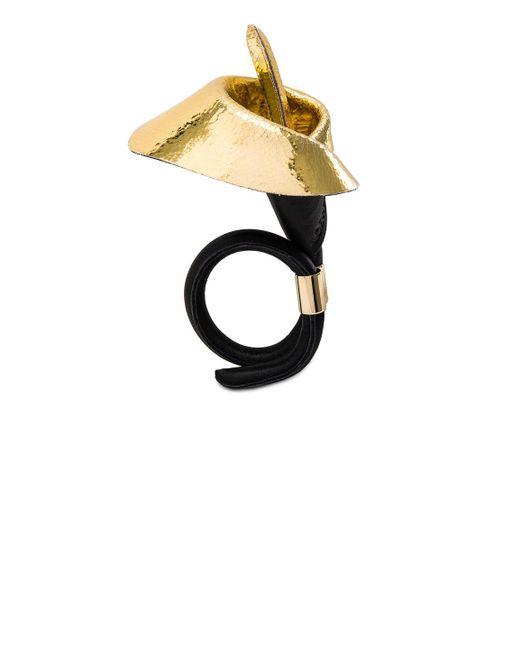 Loewe | Black Calla Flower Bracelet | Lyst