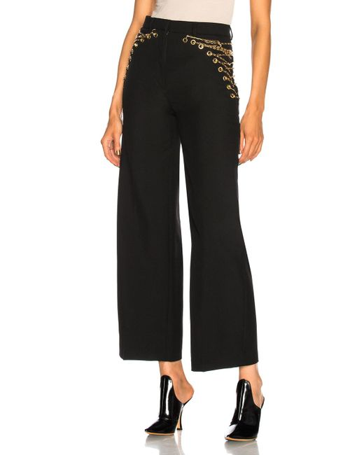 Y. Project - Black Cropped Pant - Lyst