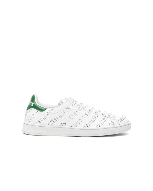 Vetements - White Perforated Sneakers - Lyst