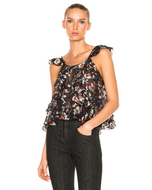 Isabel Marant | Blue Piety Top | Lyst