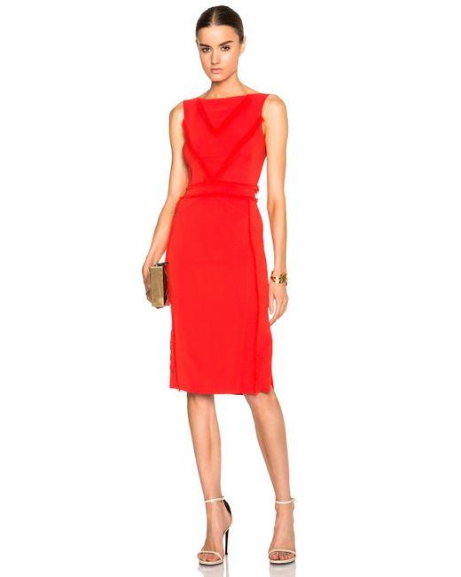 Altuzarra | Red Caulfield Dress | Lyst