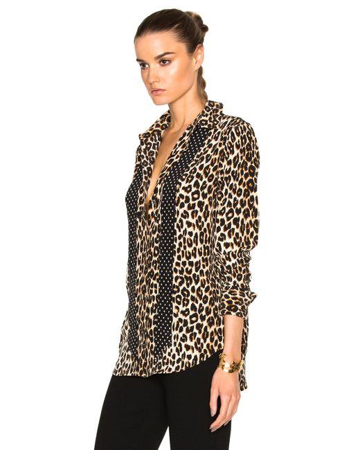 Cheetah Print Shirt Mens