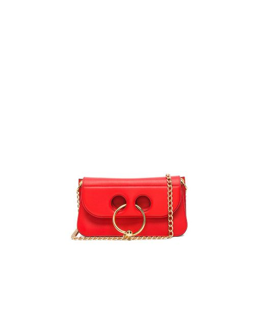 J.W.Anderson | Red Small Pierce Bag | Lyst