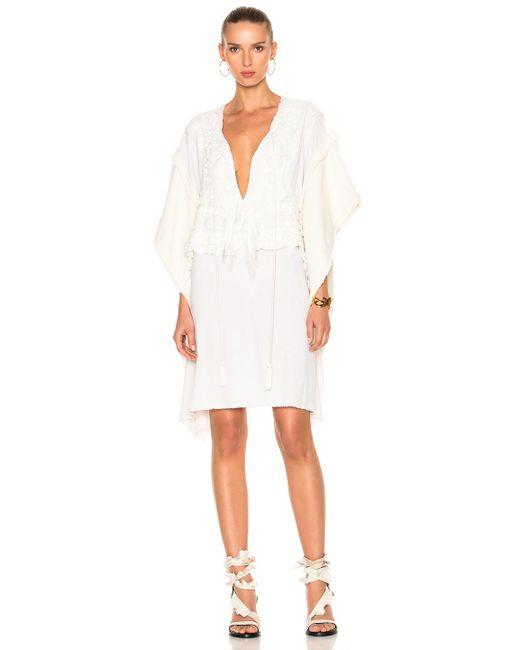 Faith Connexion   White Lace Dress   Lyst