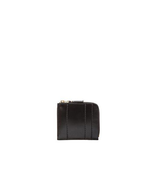Comme des Garçons - Black Raised Spike Small Zip Wallet - Lyst