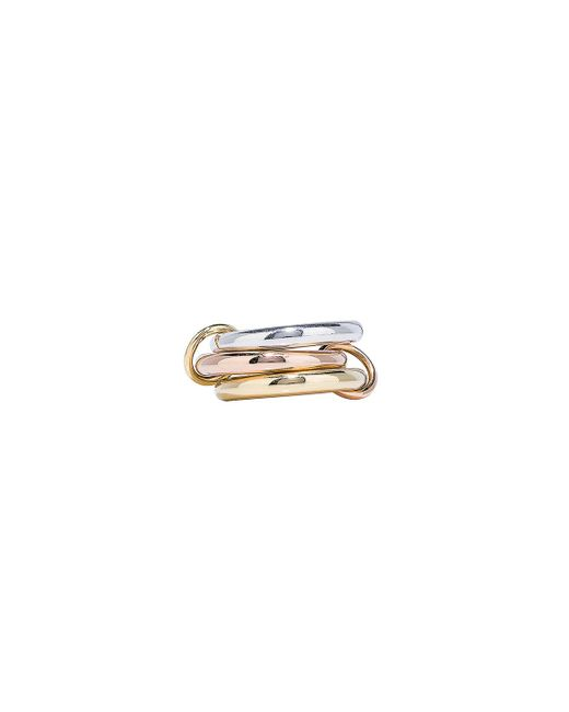 Spinelli Kilcollin - Metallic Mercury Ring In Sterling Silver, 18k Rose Gold, And 18k Yellow Gold - Lyst