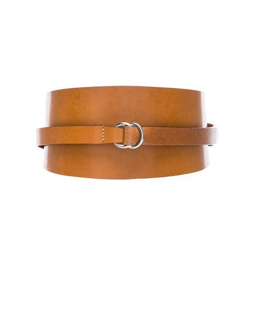 Isabel Marant - Brown Cajou Waist Belt - Lyst