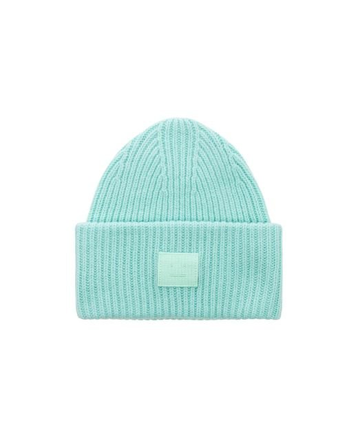 Acne - Green Pansy Face Beanie - Lyst