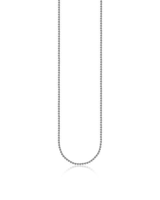 Thomas Sabo - Metallic Blackened Sterling Silver Venezia Chain Necklace for Men - Lyst