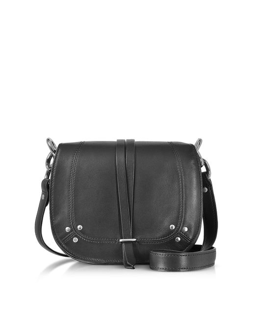 Jérôme Dreyfuss | Victor Black Leather Shoulder Bag | Lyst