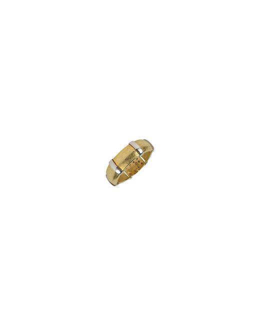 Torrini - Metallic Morphos - 18k Yellow And White Gold Cuff Bracelet - Lyst