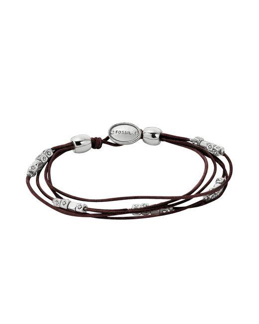 Fossil - Brown Ja5798040 Fashion Women's Bracelet - Lyst