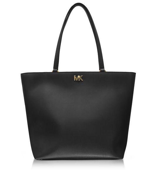 Michael Kors   Mott Medium Black Leather Tote Bag   Lyst