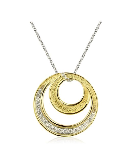 Torrini - Metallic Infinity 18k Yellow Gold Diamond Pendant Necklace - Lyst