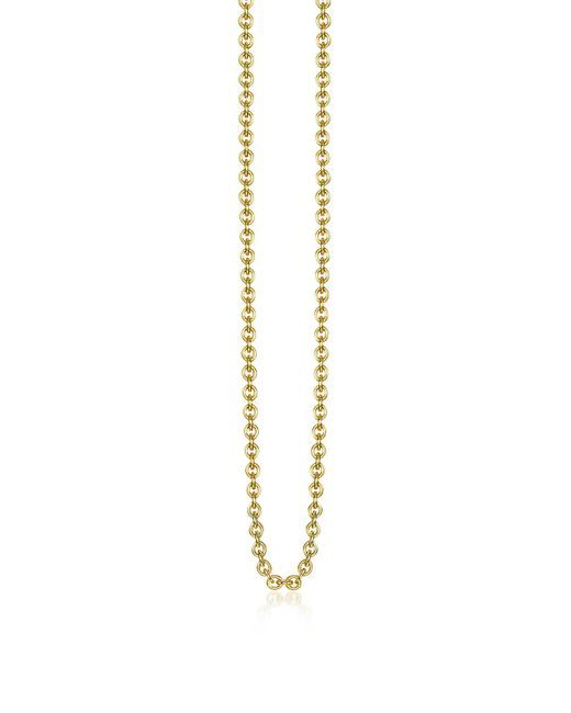 Thomas Sabo - Metallic Gold Plated Sterling Silver Anchor Chain Necklace - Lyst