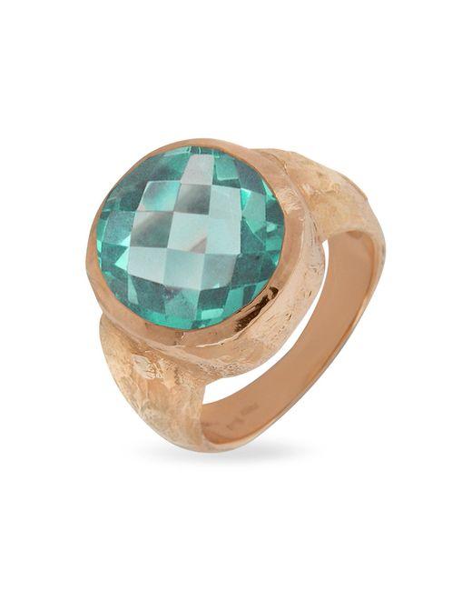 Torrini | Metallic Stefy - Green Amethyst Oval Gemstone 18k Rose Gold Ring | Lyst