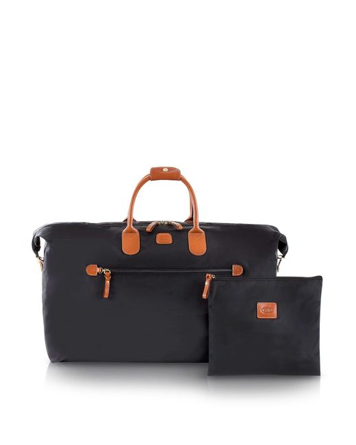 Bric's - Black X-travel Large Foldable Last-minute Holdall In A Pouch for Men - Lyst