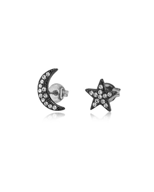 FEDERICA TOSI - Black Moon & Stars Earrings - Lyst