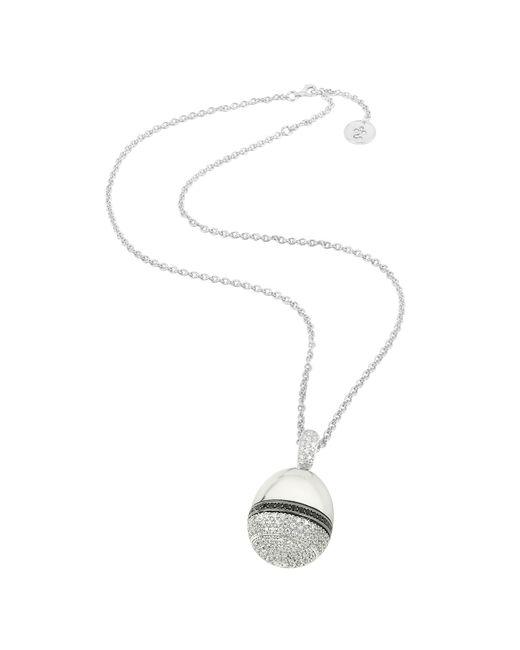 Azhar | Metallic Zircon Pendant Necklace | Lyst