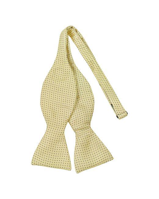 Forzieri - Multicolor Small Polkadot Self-tie Silk Bowtie for Men - Lyst