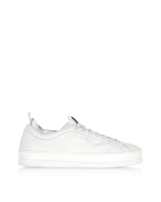 Ermenegildo Zegna - Iacopo White Low Top Sneakers for Men - Lyst