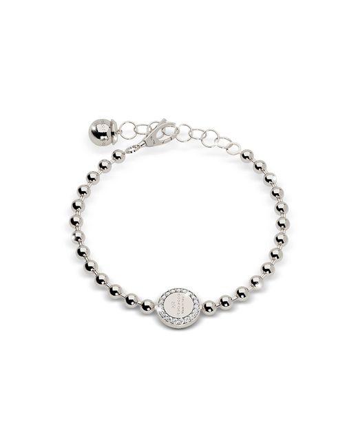 Rebecca - Metallic Boulevard Stone Rhodium Over Bronze Bracelet W/stones - Lyst