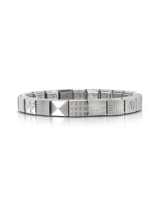 Nomination - Metallic Steel Ikons Minimal Stainless Steel Bracelet for Men - Lyst