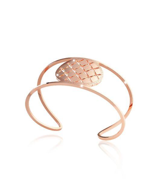 Rebecca - Pink Melrose Rose Gold Over Bronze Cuff Bracelet - Lyst