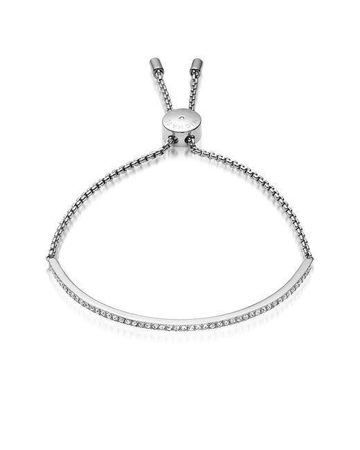 Michael Kors | Metallic Brilliance Stainless Steel And Crystals Bracelet | Lyst