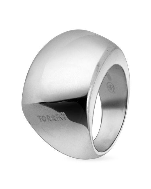 Torrini - Metallic Trapezoidal Sterling Silver Ring - Lyst