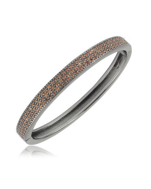 Azhar | Metallic Cubic Zirconia Bracelet | Lyst