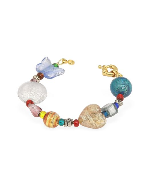Antica Murrina | Fanny - Multicolor Murano Glass Bead Bracelet | Lyst