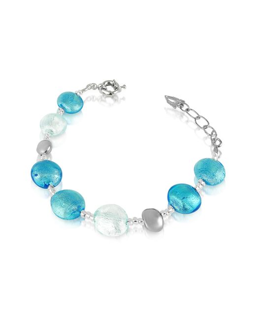 Antica Murrina | Blue Frida - Murano Glass Bead Bracelet | Lyst