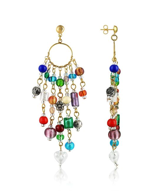 Antica Murrina | Multicolor Brio - Murano Glass Bead Chandelier Earrings | Lyst
