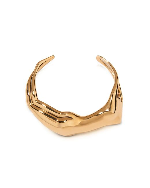 Aurelie Bidermann | Metallic Figuratives Body Gold Plated Bracelet | Lyst