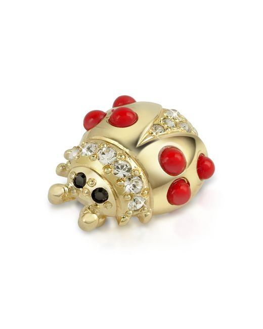 AZ Collection | Metallic Ladybug Pin | Lyst