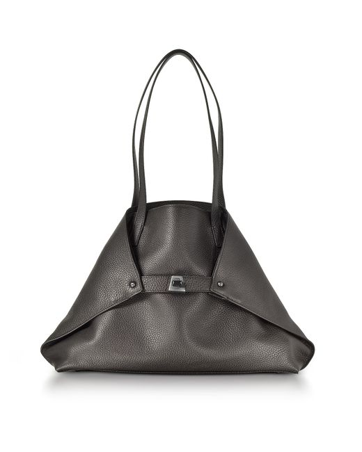 Akris | Mocca Brown Cervocalf Ai Small Shoulder Bag | Lyst