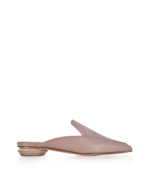 Nicholas Kirkwood | Beya Lilac Pink Tumbled Leather Loafer | Lyst