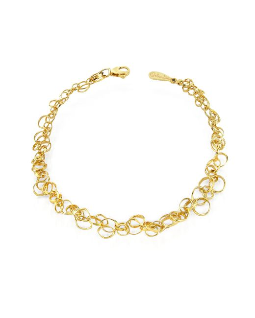 Orlando Orlandini - Metallic Scintille - 18k Yellow Gold Bracelet - Lyst