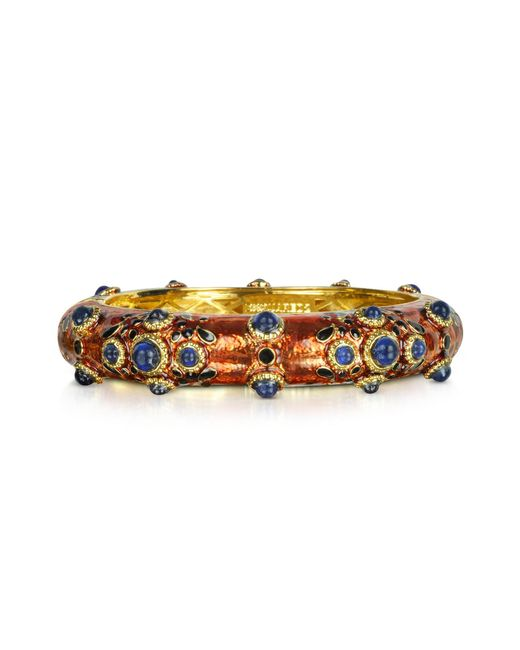 DSquared² | Multicolor Charlotte Brass And Enamel Bracelet | Lyst