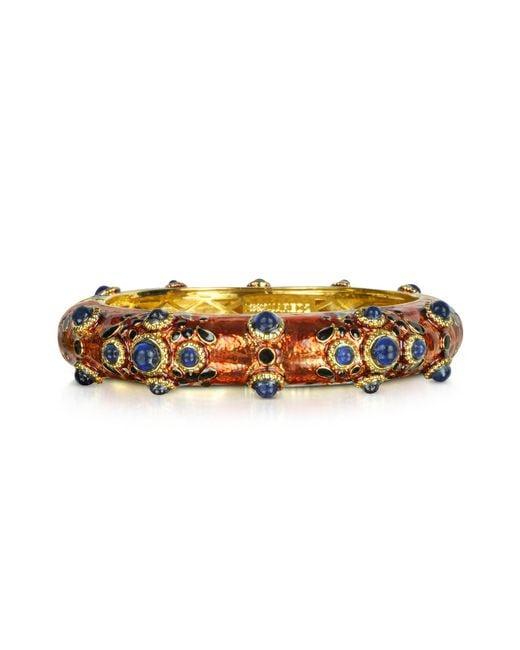 DSquared² | Purple Charlotte Brass And Enamel Bracelet | Lyst