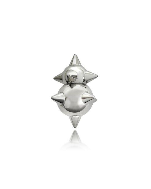 DSquared²   Metallic Pierce Me Palladium Plated Metal Spiked Single Earring   Lyst