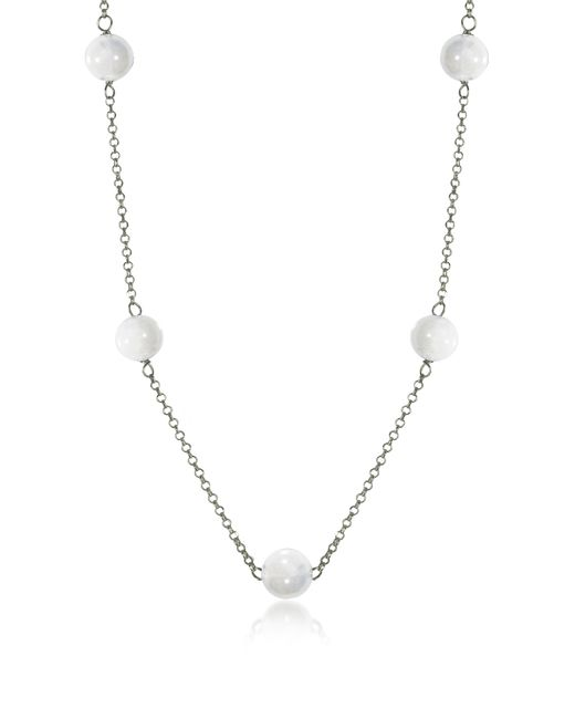 Antica Murrina | Perleadi White Murano Glass Beads Necklace | Lyst