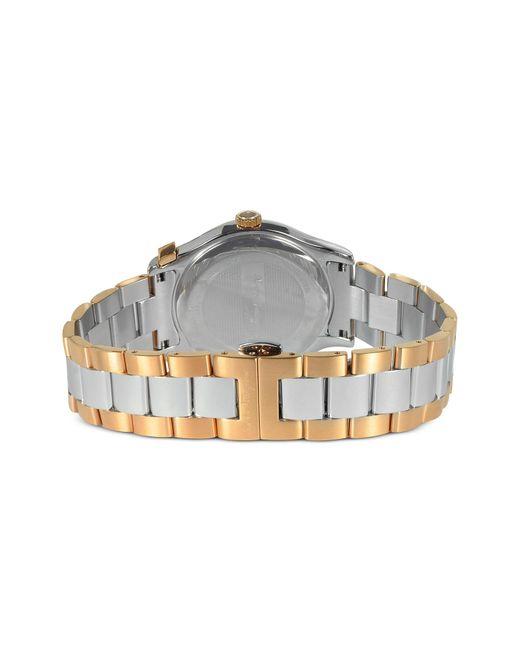 ferragamo ferragamo 1898 gold ip and silver tone stainless steel ferragamo multicolor ferragamo 1898 gold ip and silver tone stainless steel men s watch for men