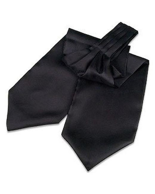 FORZIERI | Black Solid Silk Ascot for Men | Lyst