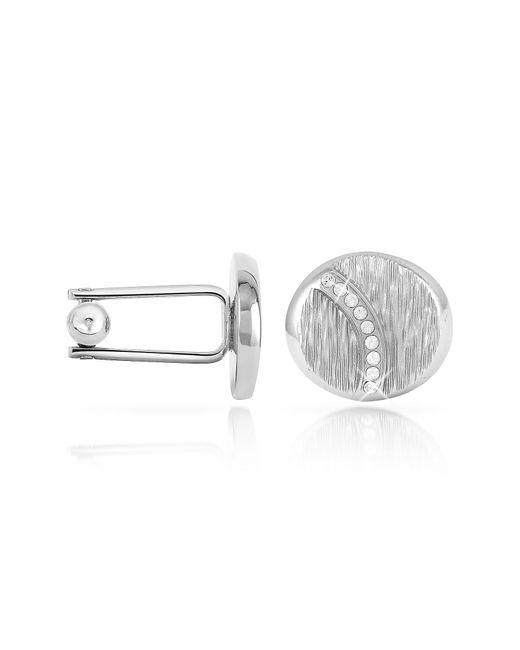 FORZIERI | Metallic Textured Oval Cuff Links for Men | Lyst