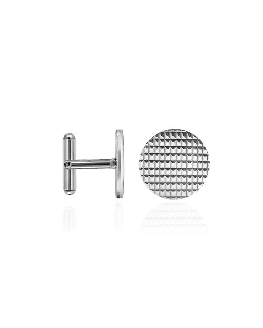 FORZIERI | Metallic Round Decorated Sterling Silver Cufflinks for Men | Lyst