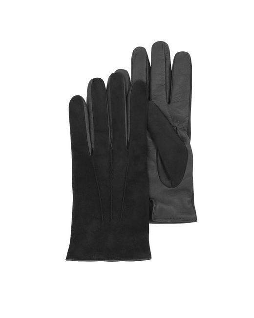 FORZIERI | Black Touch Screen Leather Men's Gloves for Men | Lyst
