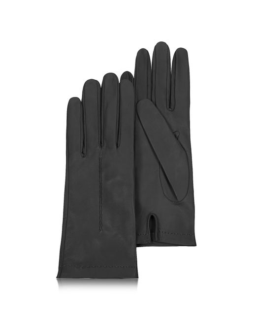 FORZIERI | Women's Black Unlined Italian Leather Gloves | Lyst